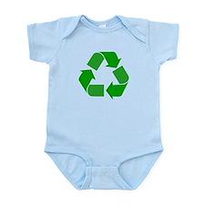 Green Recycle Symbol Infant Bodysuit