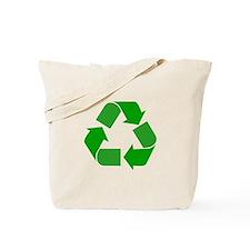 Green Recycle Symbol Tote Bag