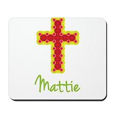Mattie Bubble Cross Mousepad