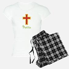 Mattie Bubble Cross Pajamas