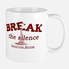 Break the Silence Selective Mutism Mug
