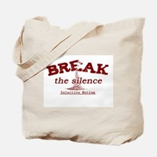 Break the Silence Selective Mutism Tote Bag