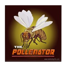 The Pollenator... Tile Coaster