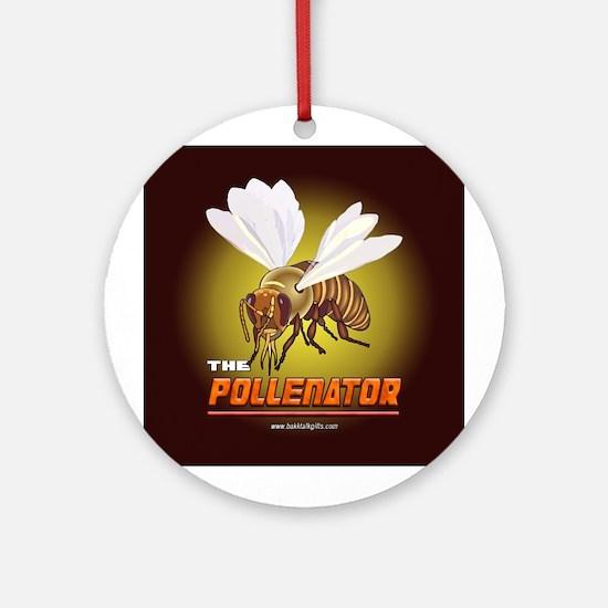 The Pollenator... Ornament (Round)