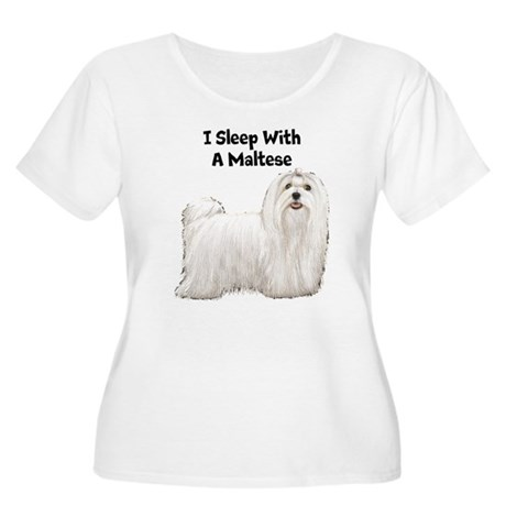 Maltese Women's Plus Size Scoop Neck T-Shirt