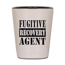 Cute Fugitive recovery Shot Glass