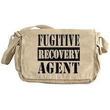 Cute Fugitive recovery agent Messenger Bag