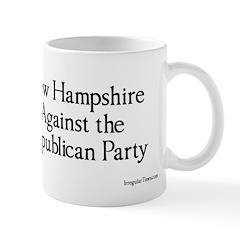 New Hampshire Against The GOP Coffee Mug
