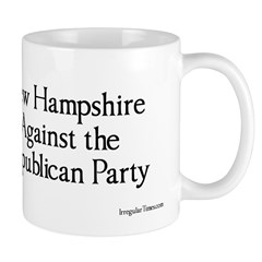 New Hampshire Against The GOP Coffee Mug