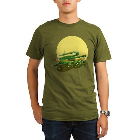 Organic Men's T-Shirt (dark) Tai Chi design