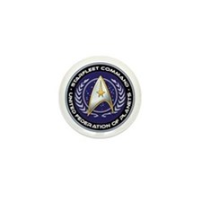 Starfleet Command Mini Button