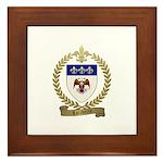 LALIBERTE Family Crest Framed Tile