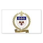 LALIBERTE Family Crest Sticker (Rectangle 10 pk)