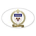 LALIBERTE Family Crest Sticker (Oval)