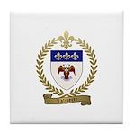 LALIBERTE Family Crest Tile Coaster