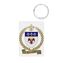 LALIBERTE Family Crest Keychains