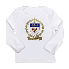 LALIBERTE Family Crest Long Sleeve Infant T-Shirt