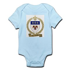 LALIBERTE Family Crest Infant Bodysuit