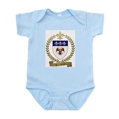 LALIBERTE Family Crest Infant Bodysuit