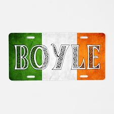 Boyle Shield Aluminum License Plate
