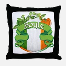 Boyle Shield Throw Pillow