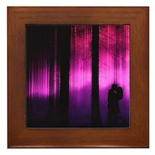 Moonlight Kiss Framed Tile