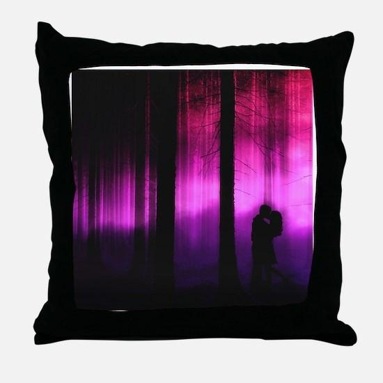 Moonlight Kiss Throw Pillow