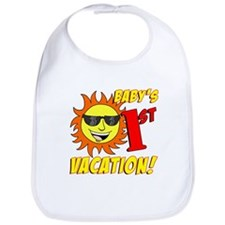 Baby's First Vacation Bib