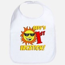 Baby's First Vacation Bib