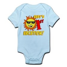 Baby's First Vacation Infant Bodysuit