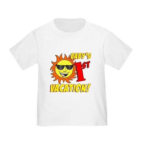 Baby's First Vacation Toddler T-Shirt