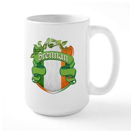 Brennan Shield Large Mug