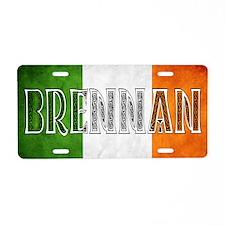 Brennan Shield Aluminum License Plate