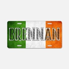 Brennan Shield Aluminum License Plate