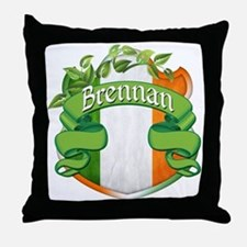 Brennan Shield Throw Pillow