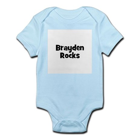 Brayden Rocks Infant Creeper