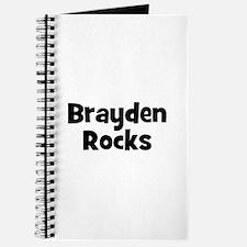 Brayden Rocks Journal