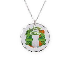 Burke Shield Necklace