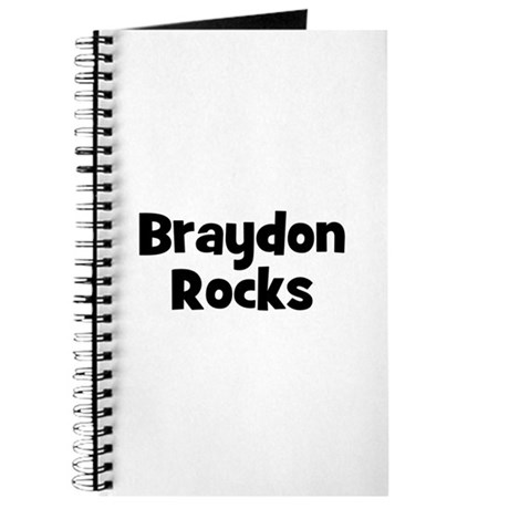 Braydon Rocks Journal