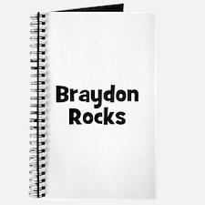 Braydon Rocks Journal