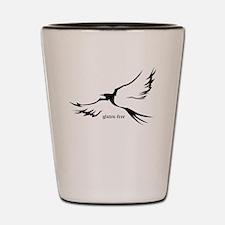 gluten-free (bird, soaring) Shot Glass