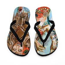 Unique Gypsy Flip Flops