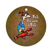 Bisk... Ornament (Round)