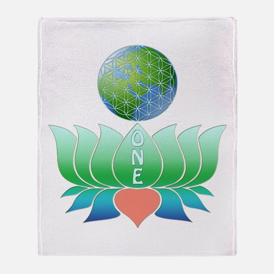Oneness Throw Blanket