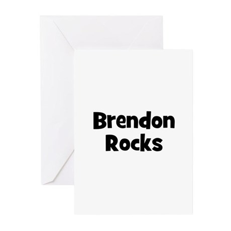 Brendon Rocks Greeting Cards (Pk of 10)