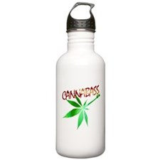 Unique Weed Sports Water Bottle
