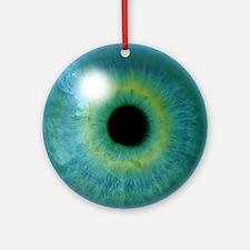 Cyclops Eye Round Ornament