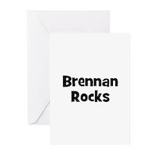 Brennan Rocks Greeting Cards (Pk of 10)