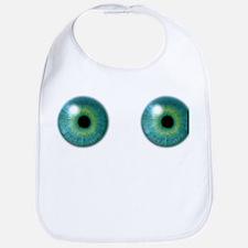 Eyeballs Cotton Baby Bib