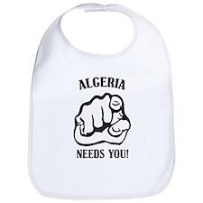 Algeria Needs You Bib